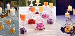 4 креативни идеи от чаши за вино
