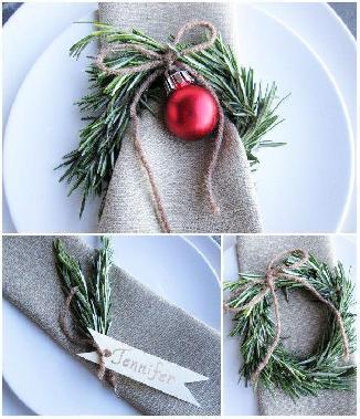 Идеи за декорация на новогодишната трапеза