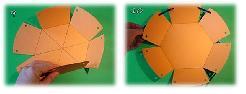 Кошничка от картон за великденски яйца