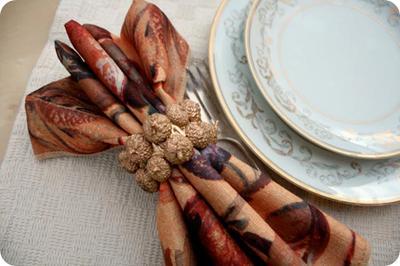 Есенна декорация за маса