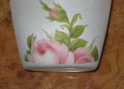 Декупаж на ваза