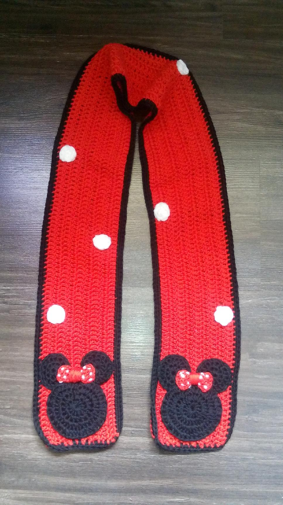 0232dcf1506 МИНИ МАУС - плетен шал | Ръчна изработка