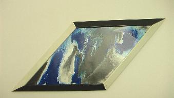 """Абстрактна картина """"Vinter i Telemark"""""""