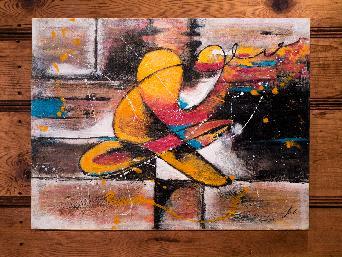 Авторски картини модерно изкуство-акрил,масло