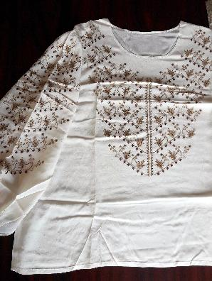 Блуза, фина ръчна изработка, уникат