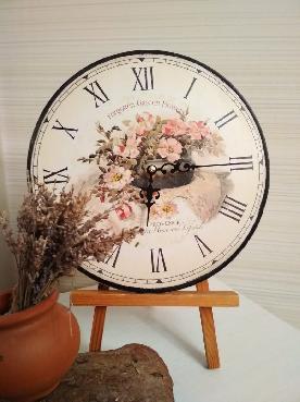 """Часовник """"Цветя"""""""
