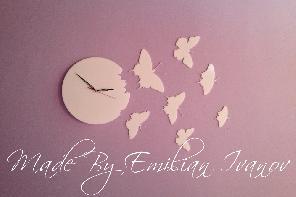 Часовник пеперуди лично производство
