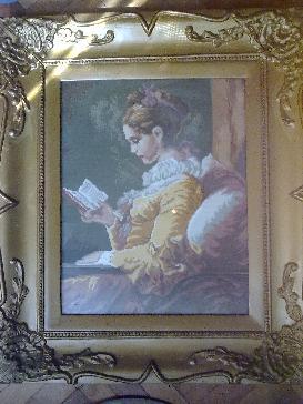Четящото момиче