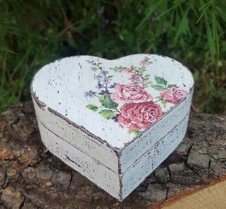 Дървена кутия за бижута, брачни халки, предложение за брак, подарък, ръчна изработка