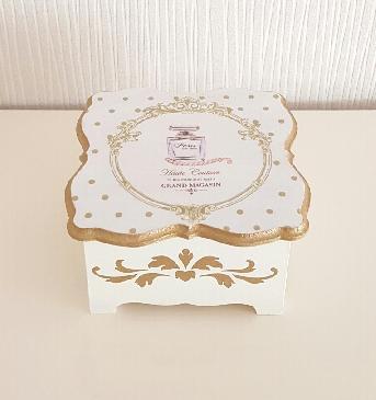 Дървена кутия за бижута, украса, декорация, ръчна изработка