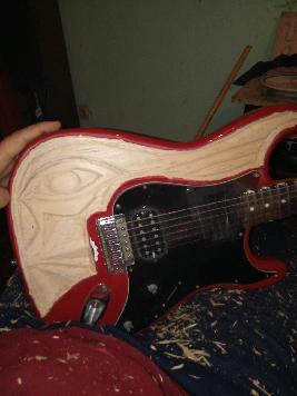 Дървозерба  китара
