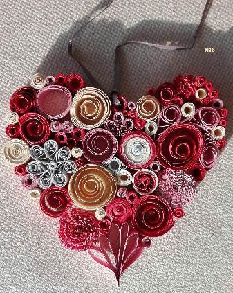 Декорация сърце
