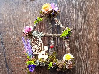 Декорация за детска стая '' Прозорецът и феята!''