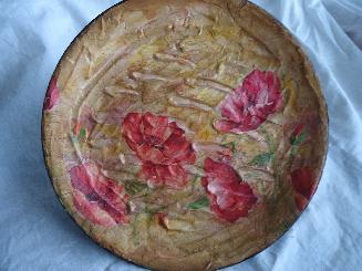Декоративна чиния МАКОВЕ