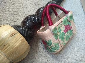 Декоративна кошница за цветя- In vino veritas