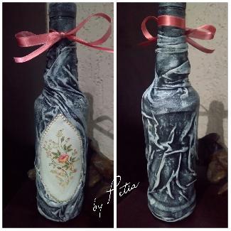 Декорирана бутилка