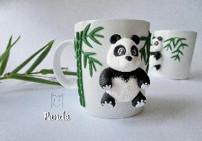 Декорирана чаена чаша