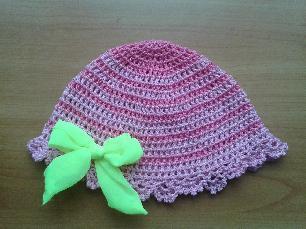 Детска модна шапка