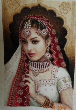 """гоблен """"Индийска принцеса"""""""