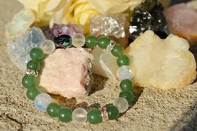 Гривна от естествени камъни Scarabaeus
