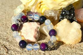 Гривна от естествени камъни Tenderness