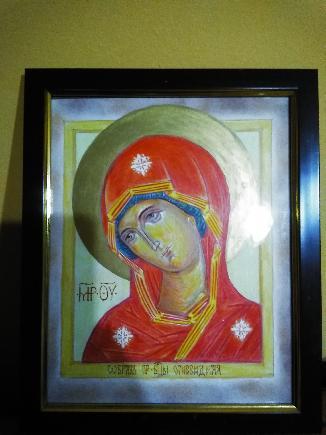 Икона на Богородица -  огневидная