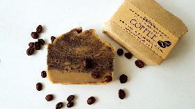 Кафе - Ексфолиращ Домашен Натурален Сапун