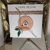 Картичка с послание