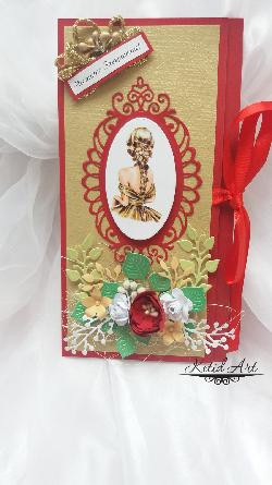 Картички за паричен подарък ръчна изработка