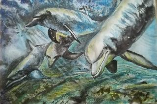"Картина ""Делфини"""