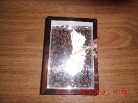 картина от кафе ръчна изработка