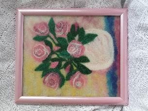 Картина рисувана с вълна