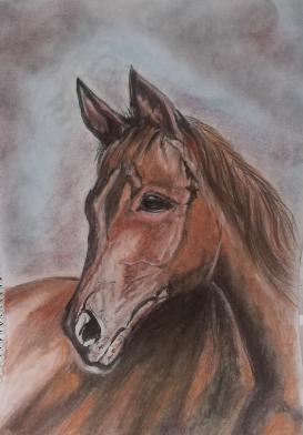 Картина с кон