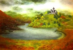 """Картина """"Замъкът"""""""