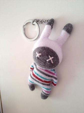 Ключодържател с ръчно изработена играчка