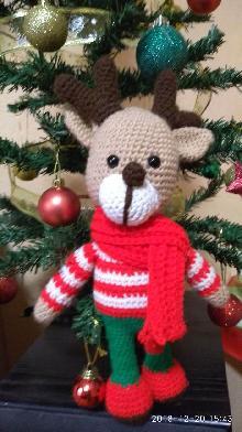 Коледен елен