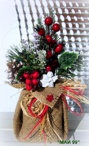 Коледен подарък с ангелче