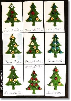 Коледни картички с елха