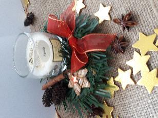 Коледни свещници