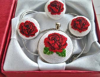 Комплект Българска роза
