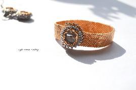 Комплект гривна и обеци,,Gold &Silver,,