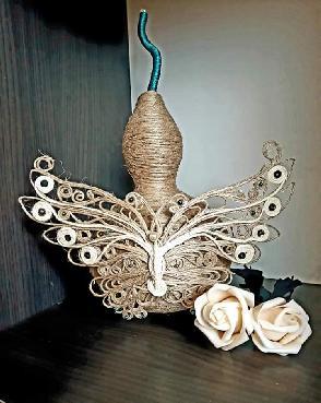 Кратунка декорирана с канап