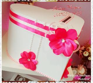 Кутия за подаръци и пожелания Сърце