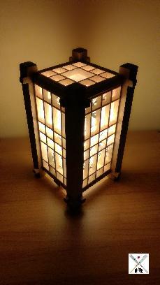 Японска Лампа Шоджи