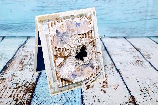 Луксозна картичка с плик за пари