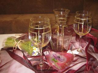 Чаши и гарафа