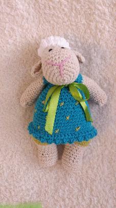 Плетена играчка - Овца