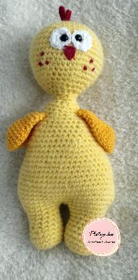Плетена играчка - Пиле