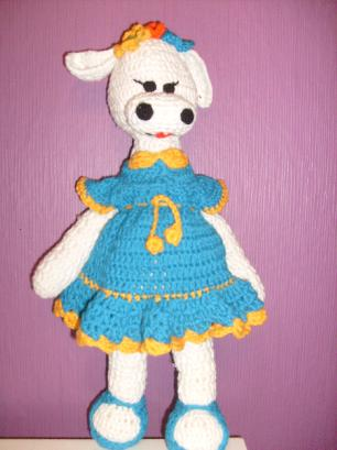 Плетена крава