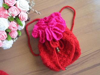 Плетена раница